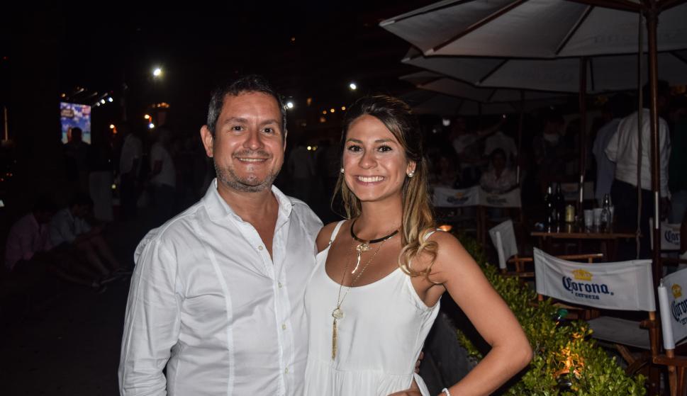 Marcelo Zieleniec, Camila Vega.