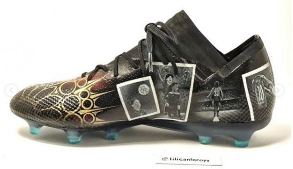 diseño innovador baratas para la venta más baratas Las nuevas zapatos personalizadas de Lionel Messi - Ovación ...