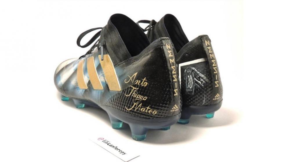 disponible muy agradable proveedor oficial Los nuevos zapatos personalizados de Lionel Messi - Ovación ...