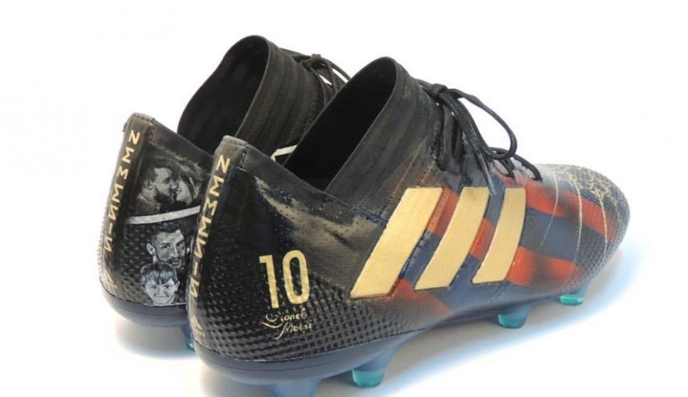 a4935c4a Las nuevas zapatos personalizadas de Lionel Messi - Ovación - 09/01 ...