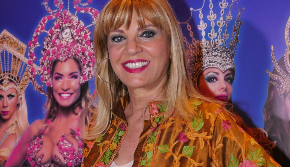 La ex modelo y presentadora Teté Coustarot. Foto: Ricardo Figueredo