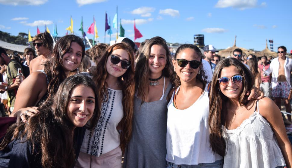 Josefina Secco, Carolina Arcelus, Guadalupe Indarte, Valentina Teske, Martina Fraschini, Julieta Indarte