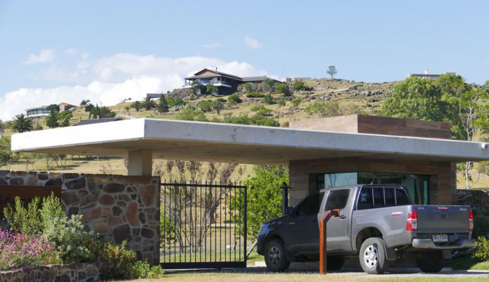La Justicia dispuso ayer un allanamiento de la chacra de Balcedo. Foto: R. Figueredo