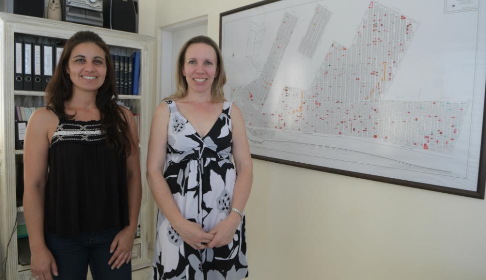 Ana Laura y Natalia, de Inmobiliaria Amarras