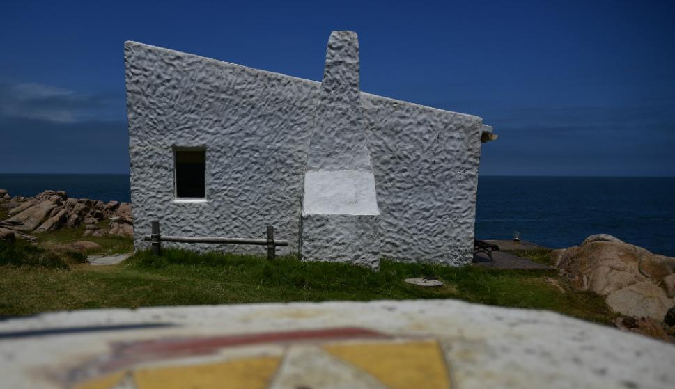 Se destaca un rancho con vista a la playa Sur y al faro. Foto: Fernando Ponzetto
