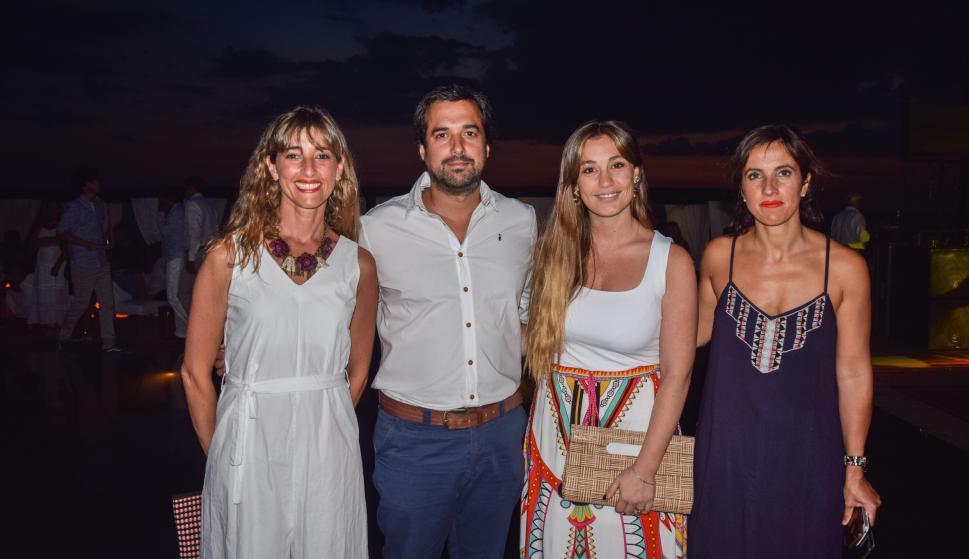 Florencia Cassarino, Diego Lazcano, Tamara Urrestarazu, Magdalena Uriarte.