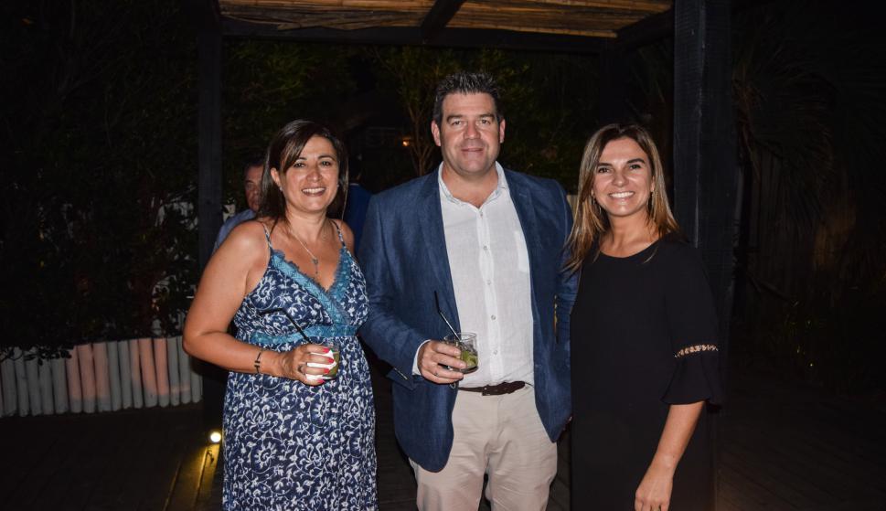 Mariela Inzetta, Guzmán Nebel, Fernanda Duter.