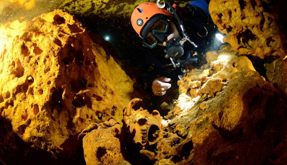 Es la cueva subacuática más grande del mundo. Foto: Reuters