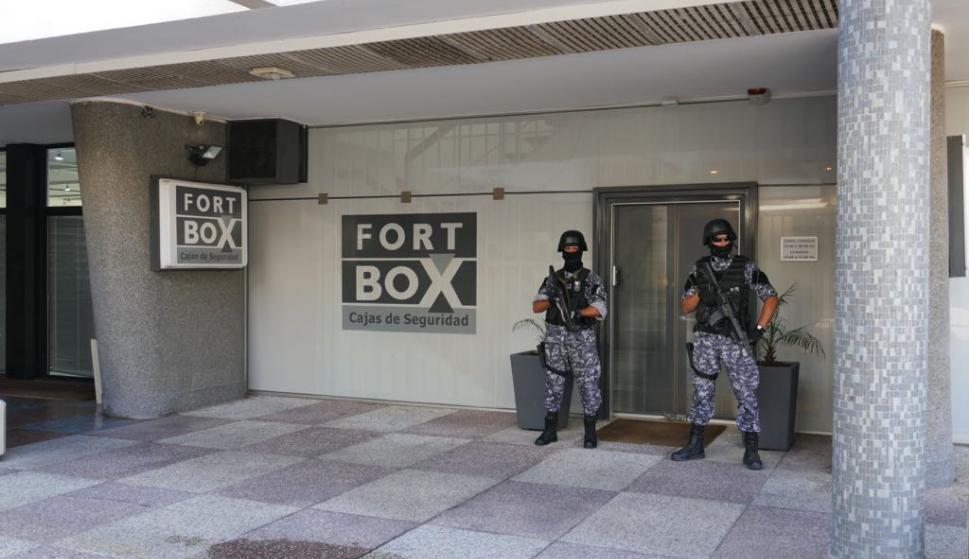 La Justicia de Maldonado dispuso la apertura de los cofres fort de Balcedo. Foto: Ricardo Figueredo