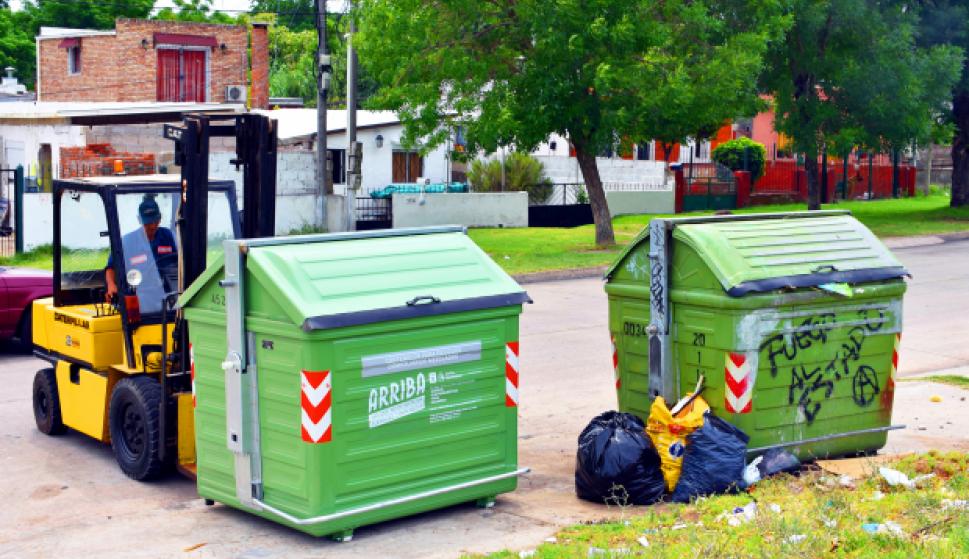 Nuevos contenedores en Montevideo. Foto: IMM