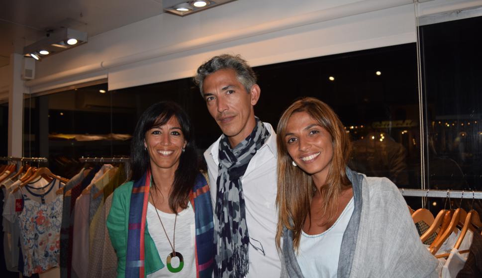 Carolina, Federico y Martina Neder.