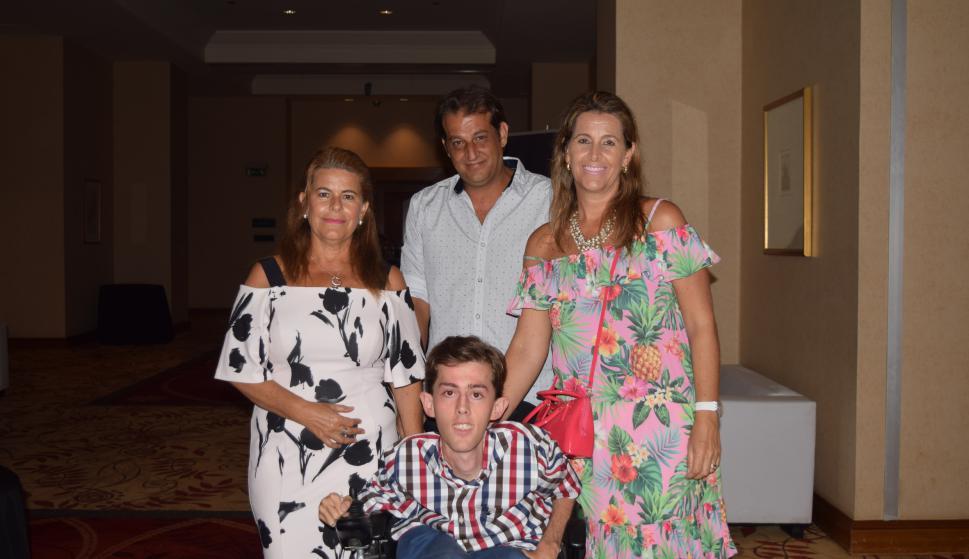 Patricia Rodríguez, Juan Luis Platero, Gonzalo y Liliana Rodríguez.