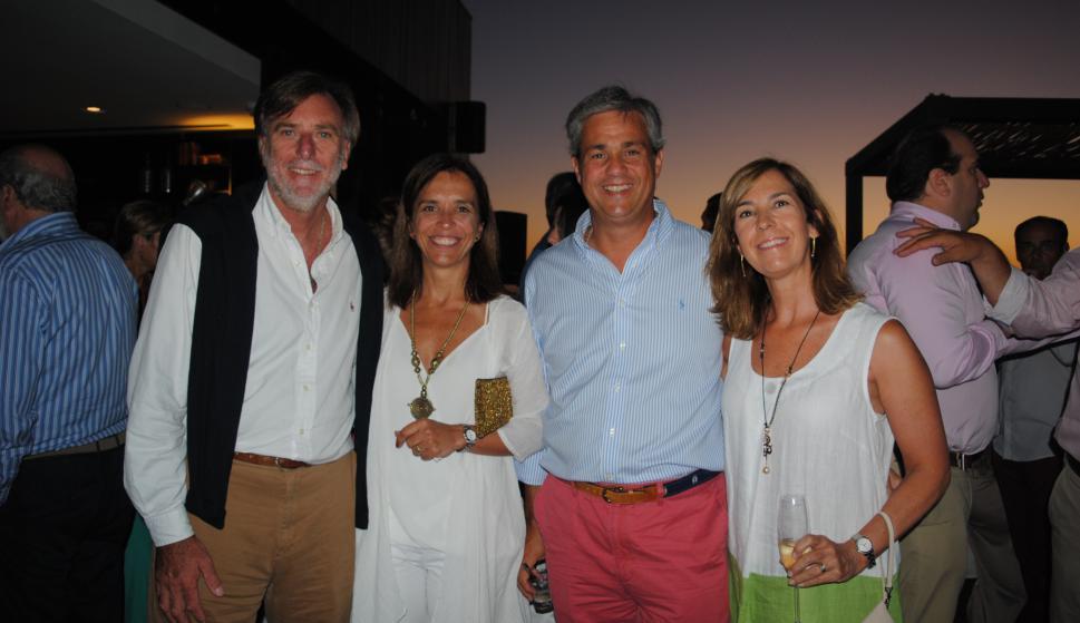 Eduardo Payovich, Marcela Risso, Agustín Leindekar, Olga Stirling.
