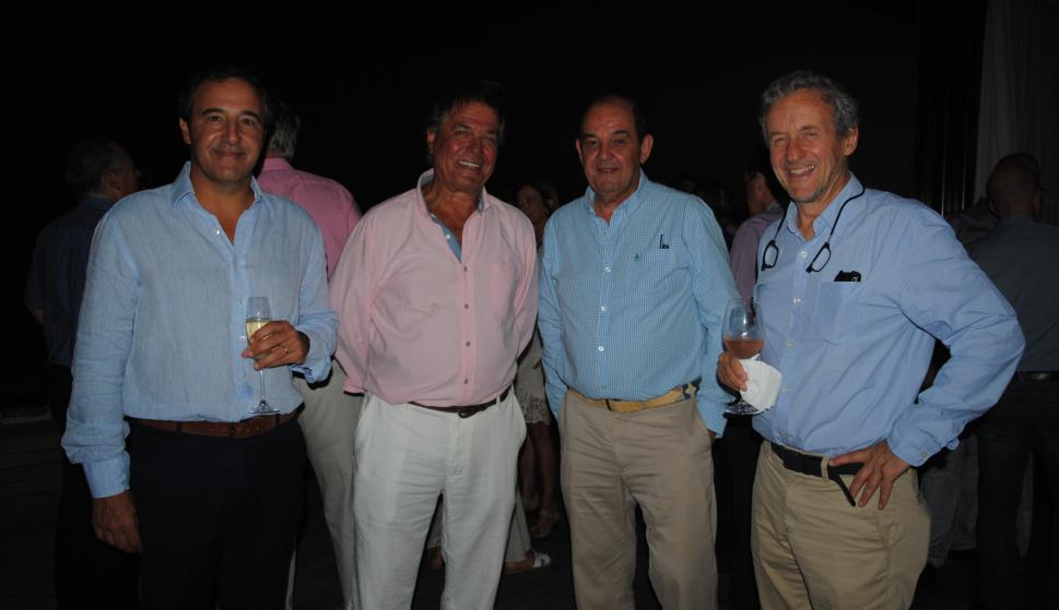 Valentín Martínez, Gerardo Zambrano, Juan Otegui, Marcelo Pestarino.
