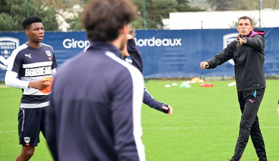 Gustavo Poyet asumió al frente de Girondins. Foto: AFP