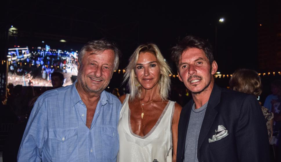 Cristiano Rattazzi, Gabriela Cartellani, Gerard Conralonieri.