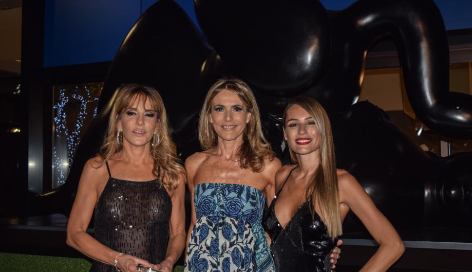 Patricia Della Giovampaola, Rossella Della Giovampaola, Carolina Ardohain.
