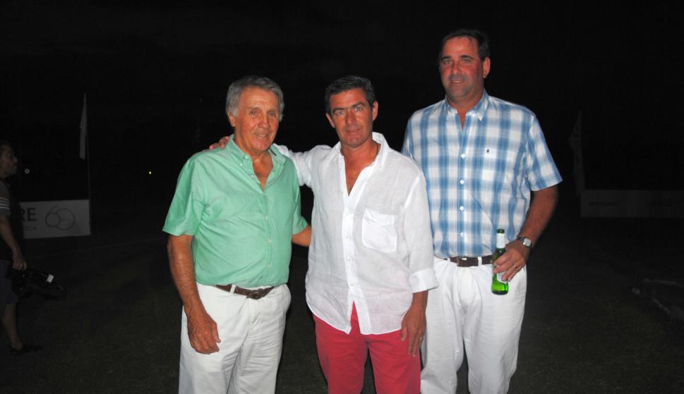 Horacio Zanelli, Victor Paullier, Franco Guasoni.