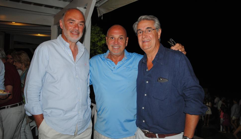 Roberto Weisz, Daniel Bottero, Horacio Vilaró.