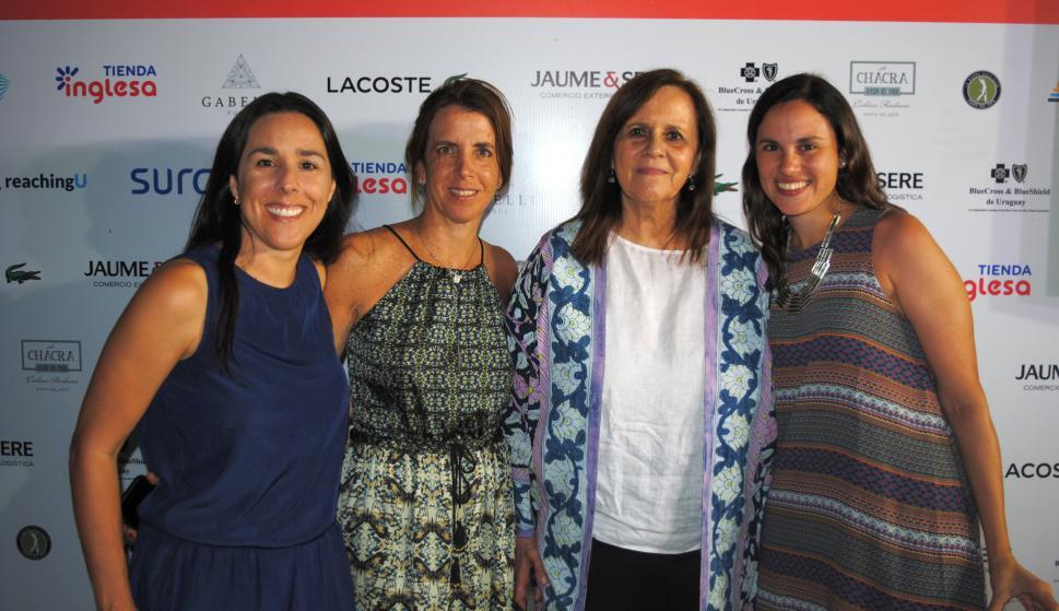Valeria Luzardo, Inés Bonicelli, Teresa Stighetti, Cecilia Orlando.