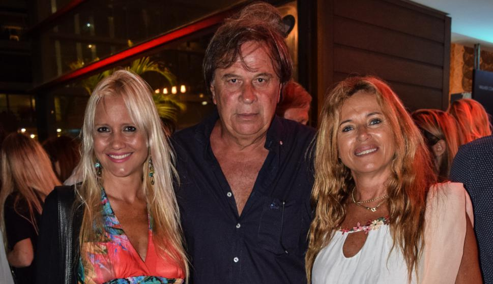 Georgina Vedovelli, Mario Adler, Carolina González.