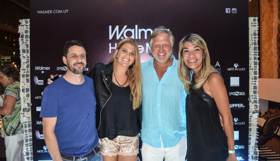 Maxi Ojeda, Stephanie y Héctor Liberman, Fabiana Ríos.
