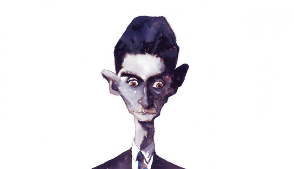 Franz Kafka por Sábat