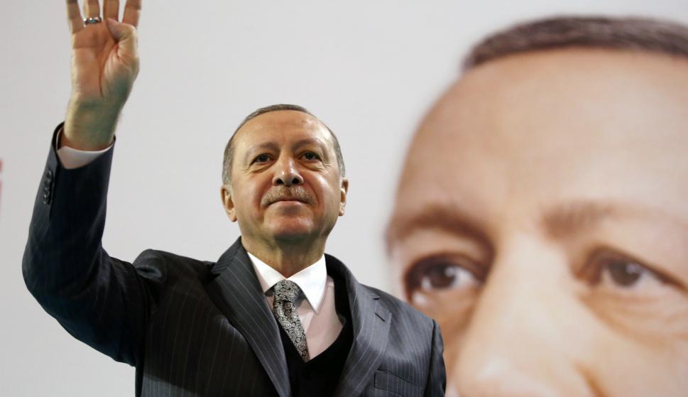 REACCIÓN. La llegada al país del presidente turco genera malestar en toda la comunidad armenia. Foto: Reuters.
