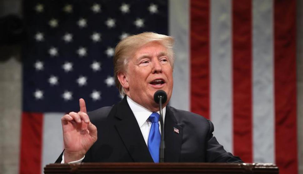 Donald Trump. Foto: EFE