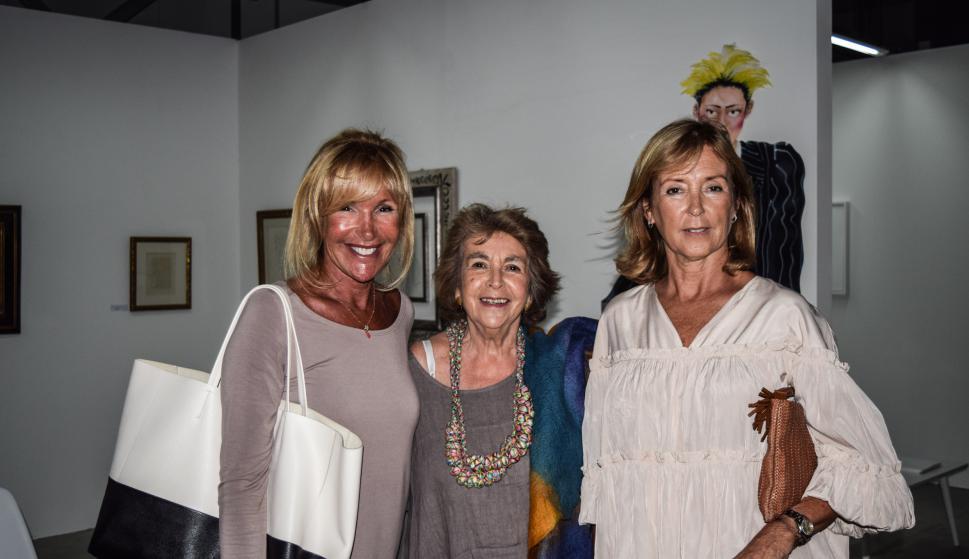Alicia Fernández, Elena Caja, Cecilia Soler.