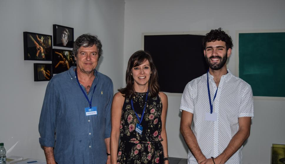 Jorge Davies, Cristina Magalhaes Pinto, Juan Pablo Campistrous.