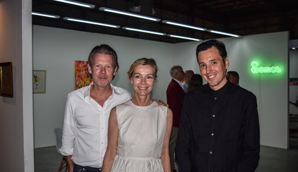 Robert Muller Gruenow, Stephanie Eckerskorn, Martín Craciun.