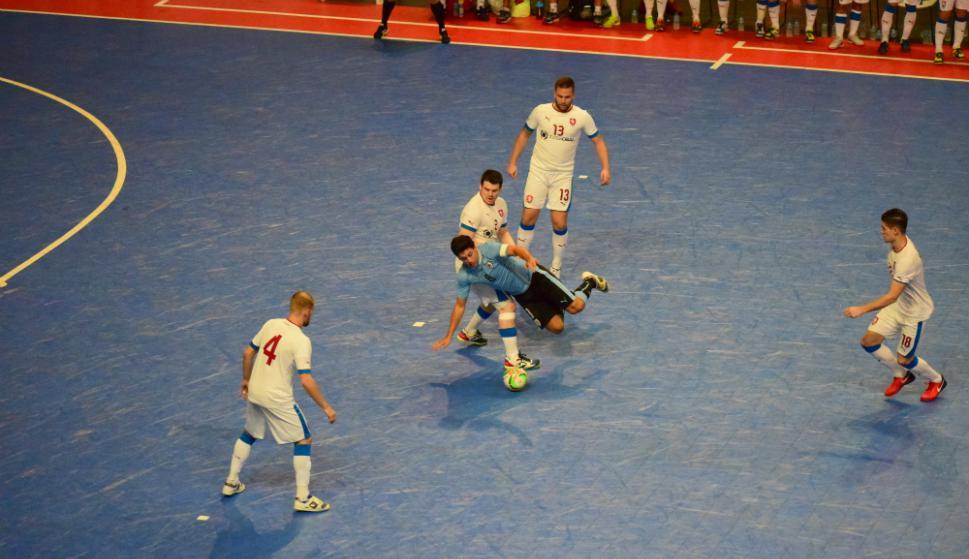 Uruguay ante República Checa, Gran Prix Futsal. Fotos: Javier Vallvé