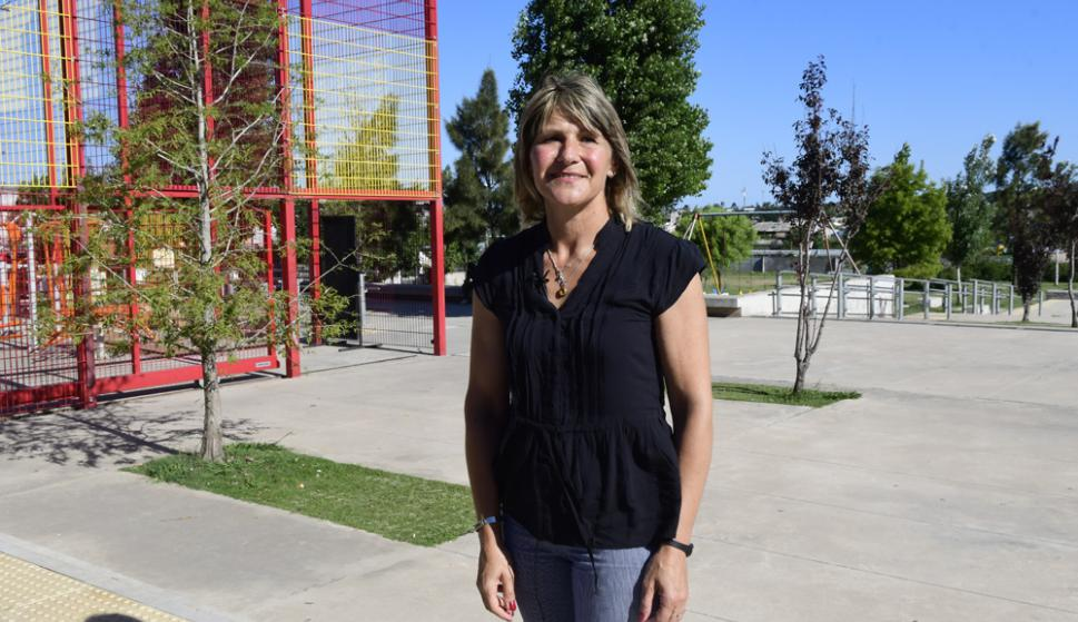 Cada año el municipio D de la alcaldesa Sandra Nedov recibe $ 166 millones. Foto. Marcelo Bonjour
