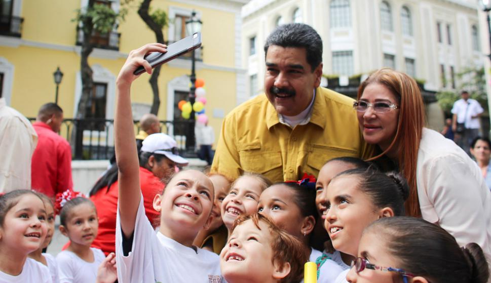 """Maduro: """"Ya todo se habló. Nosotros vamos a elecciones, con o sin ustedes"""". Foto: Reuters"""