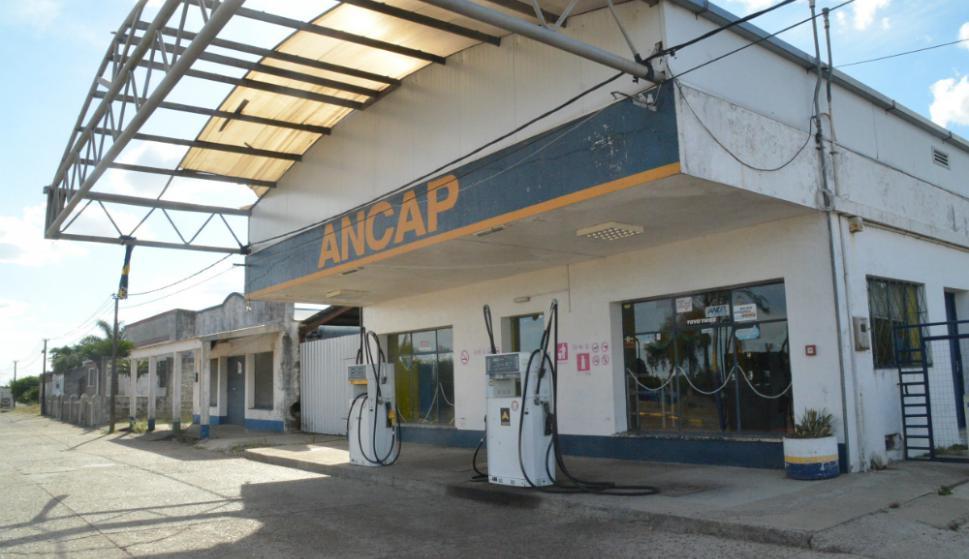 La estación de Ancap cerró hace más de un mes. Foto: V. Rodríguez