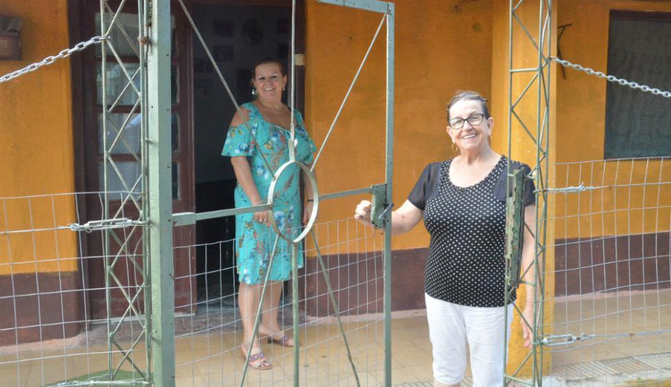 Violeta Brutti vive a una cuadra de la estación. Foto: V. Rodríguez