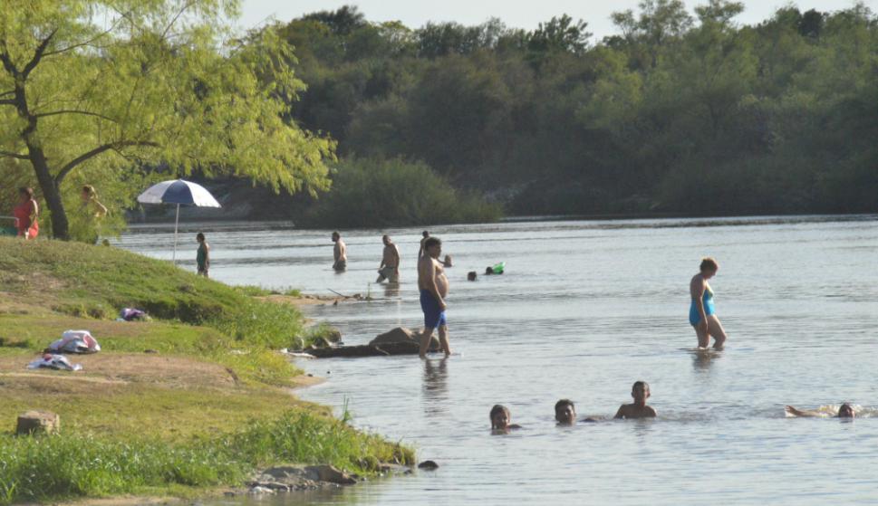 El pueblo tiene diferentes atractivos como la playa. Foto: V. Rodríguez
