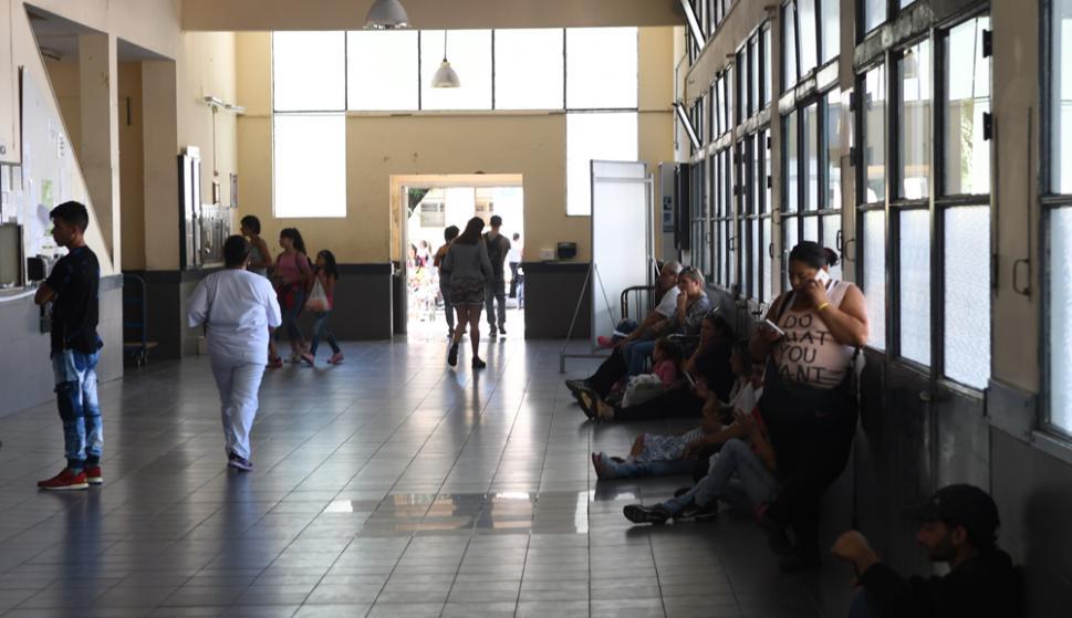 Hospital Pereira Rossell. Foto: Ariel Colmegna