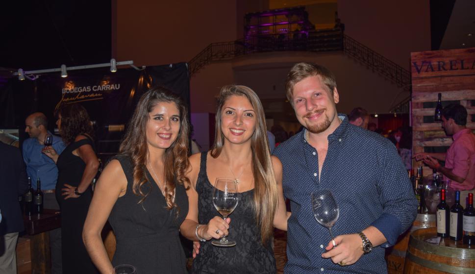 Macarena Lanz, Patricia Costanzo, Michel Schneidereit.