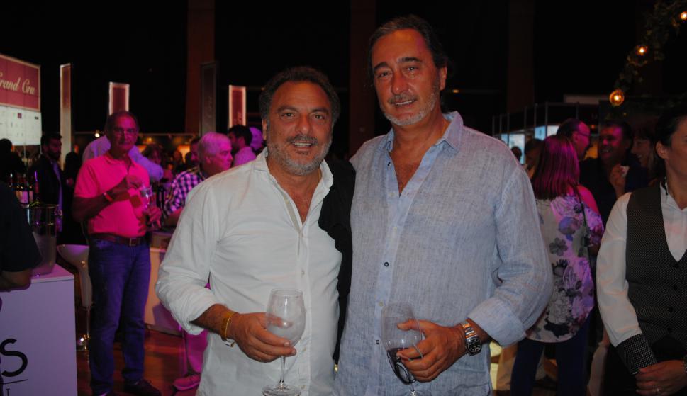 Andrés Jafif, Carlos Chabert.
