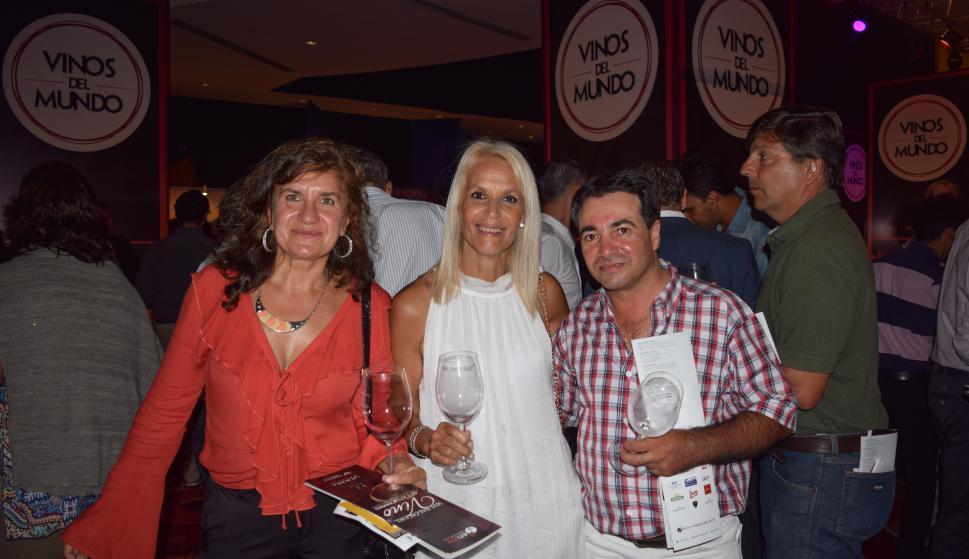 Gabriela Franceschini, Silvia Dieira, Alejandro Suárez.