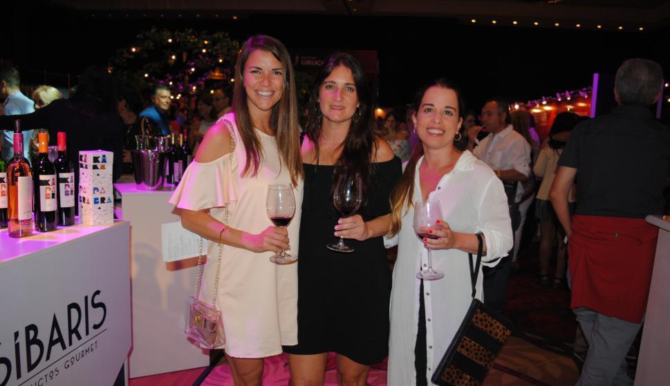 María Gimena Musselli, Carolina Torres, Emilia Gimeno.