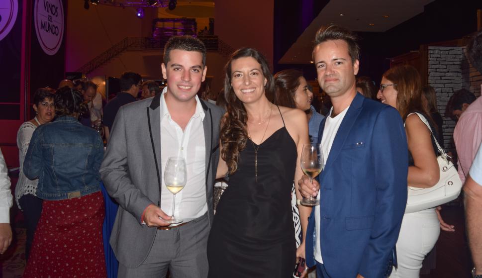 Yesty Prieto, Fabiana Blanco, Adrián Ifran.