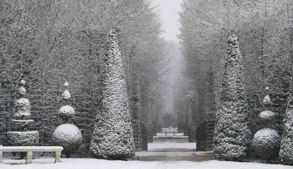 Paris nieve