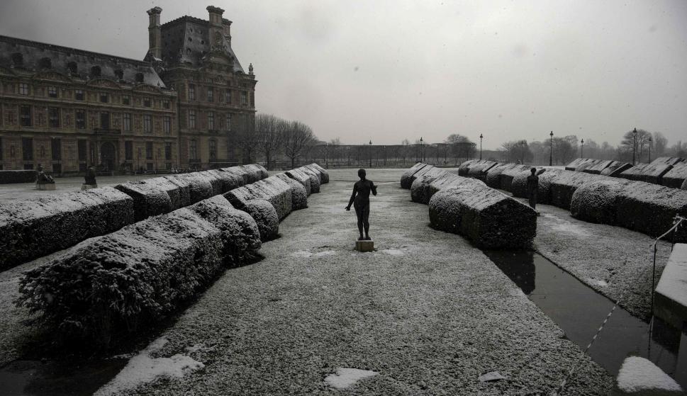 Nieve en paris