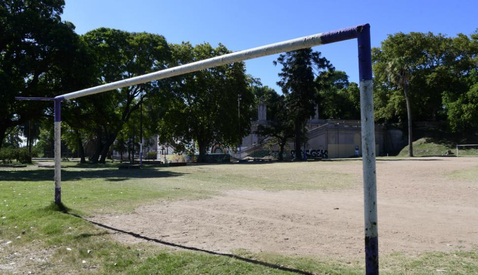 Comenzaron las obras en el Parque Capurro. Foto: Marcelo Bonjour