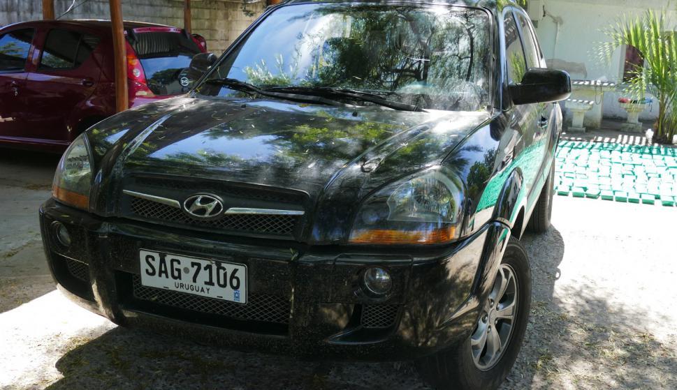 """La camioneta iba con un """"abultado y visible"""" cargamento. Foto: Ricardo Figueredo"""