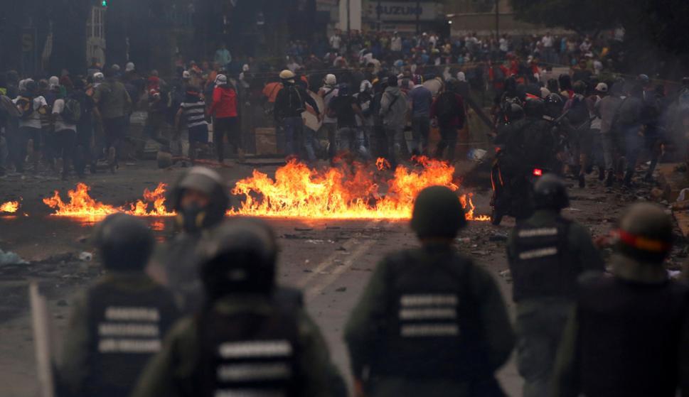 Caracas: entre abril y julio de 2017 murieron 125 personas durante las manifestaciones. Foto: Reuters