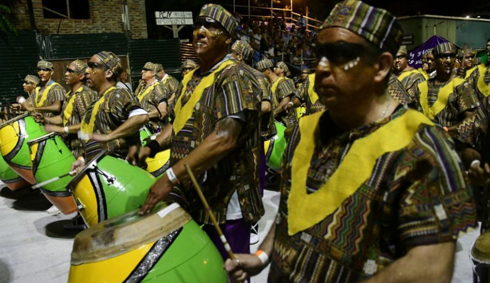 Desfile de Llamadas 2018. Foto: Marcelo Bonjour